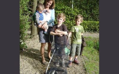 Coen, Jasper, Sander & Caroline gaan voor de eerste keer vissen