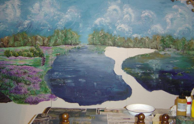 Schilderij-Chantal-Hermkens-Forellenvijver-Heioord-03