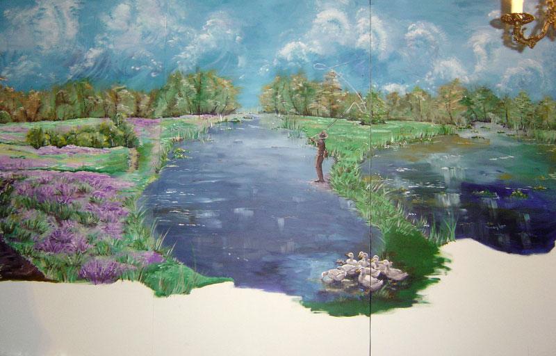 Schilderij-Chantal-Hermkens-Forellenvijver-Heioord-04