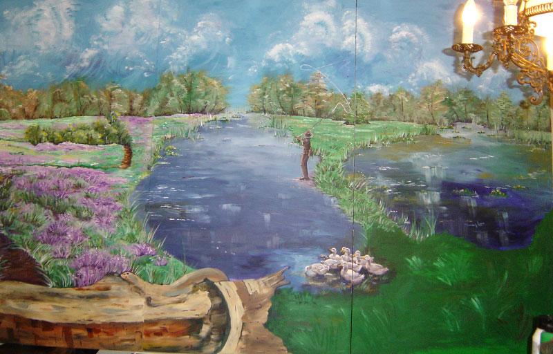 Schilderij-Chantal-Hermkens-Forellenvijver-Heioord-05