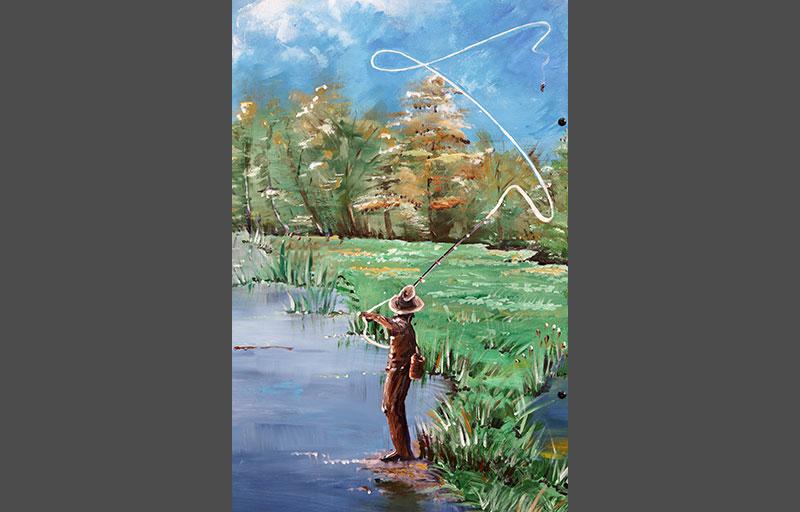 Schilderij-Chantal-Hermkens-Forellenvijver-Heioord-13