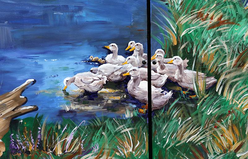 Schilderij-Chantal-Hermkens-Forellenvijver-Heioord-14