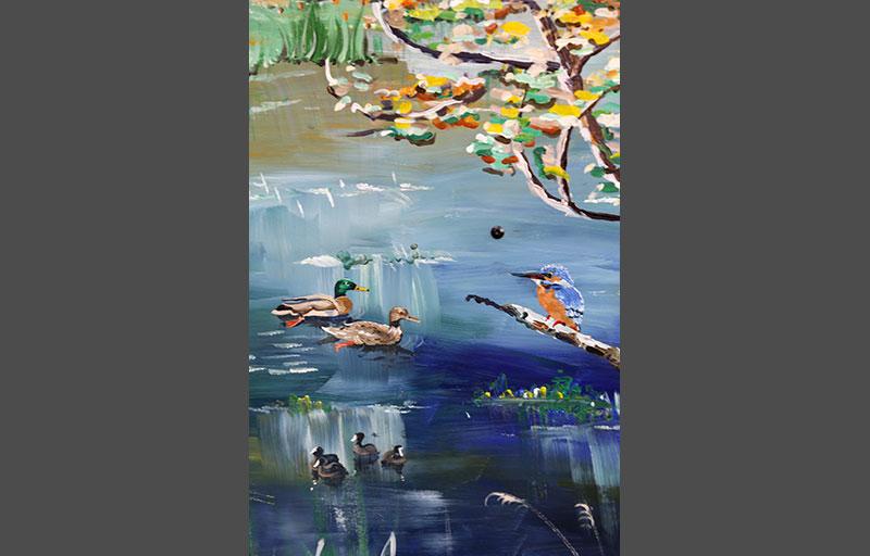 Schilderij-Chantal-Hermkens-Forellenvijver-Heioord-15