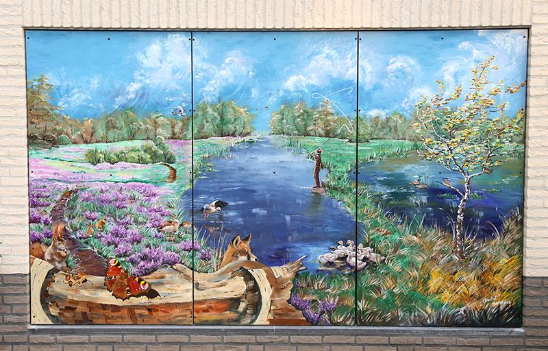 Schilderij-Chantal-Hermkens-Forellenvijver-Heioord-18