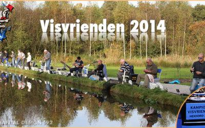 Wim Reijnders wint de Visvrienden Cup 2014 bij Heioord