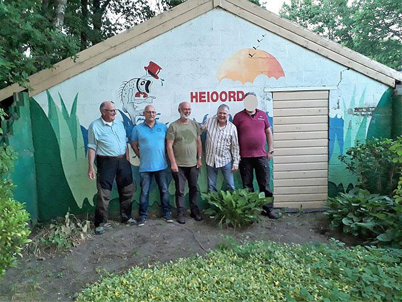 Team Heioord vliegvissen 2018